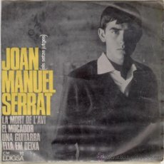 Discos de vinilo: JOAN MANUEL SERRAT - LA MORT DE L'AVI - EP. Lote 27139637