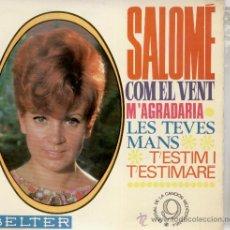 Discos de vinilo: SALOME - COM EL VENT - EP. Lote 25650704
