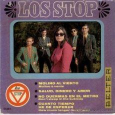Discos de vinilo: LOS STOP - MOLINO AL VIENTO - EP. Lote 25650706