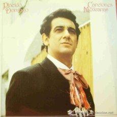 Discos de vinilo: PLACIDO DOMINGO-CANCIONES MEXICANAS LP 1982 PROMOCIONAL SPAIN. Lote 14864095