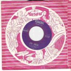 Discos de vinilo: EVA GARZA - VERACRUZ / NOCHE CRIOLLA ** PROMOCIONAL MUSART. Lote 14864691