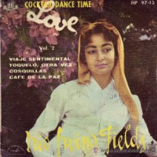 Discos de vinilo: TRIO IRVING FIELDS DISCO EP COKTAIL DANCE TIME AMOR VOL 2 HP9713 1959 SPA. Lote 24078856