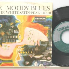 THE MOODY BLUES nights in white satin (noches de blanco saten) single 1967