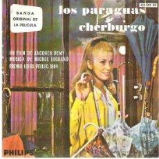 Discos de vinilo: LOS PARAGUAS DE CHERBURGO *** PREMIO LOUIS DELLUC 1964 * PHILIPS ESPAÑA EP 1964. Lote 14878511