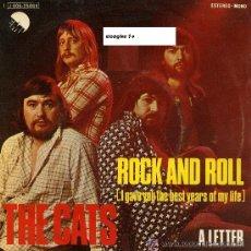 Discos de vinilo: THE CATS SINGLE ROCK AND ROLL 1974 EMI. Lote 14880477