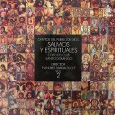 Discos de vinilo: SALMOS Y ESPIRITUALES - CORO DEL CLUB SANTO DOMINGO - 1970. Lote 169028186