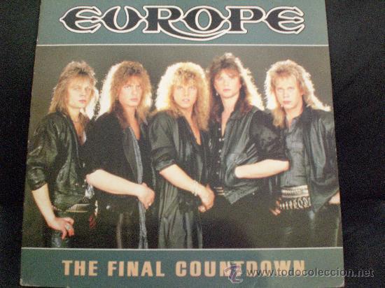 EUROPE. THE FINAL COUNTDOWN (Música - Discos - Singles Vinilo - Heavy - Metal)