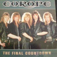 Discos de vinilo: EUROPE. THE FINAL COUNTDOWN. Lote 14890437
