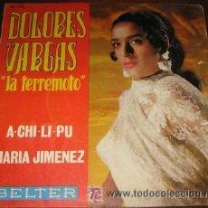 Discos de vinilo: DOLORES VARGAS LA TERREMOTO. Lote 24078862
