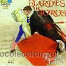 Discos de vinilo: PASODOBLES TOREROS CON OLÉS Y APLAUSOS. VOL.3. ED.HISPAVOX,1964. 45 RPM. Lote 24078865