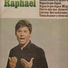 Discos de vinilo: LP RAPHAEL - BANDA SONORA DE LA PELICULA DIGAN LO QUE DIGAN. Lote 17455266