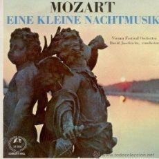 Discos de vinilo: MOZART - EINE KLEINE NACHTMUSIK - THE VIENNA FESTIVAL ORCHESTRA. Lote 25171447