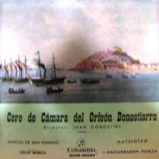 Discos de vinilo: ORFEÓN DONOSTIARRA - 1962. Lote 26309088