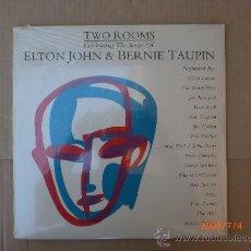 Discos de vinilo: ELTON JHON & BARNEI TAUPIN ( TWO ROOMS). Lote 14973614