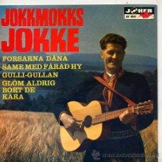 Discos de vinilo: JOKKMOKKS JOKKE (EP ORIGINAL SUECO) TEMAS EN PORTADA. Lote 14993800