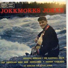Discos de vinilo: JOKKMOKKS JOKKE (EP ORIGINAL SUECO) TEMAS EN PORTADA. Lote 14993816
