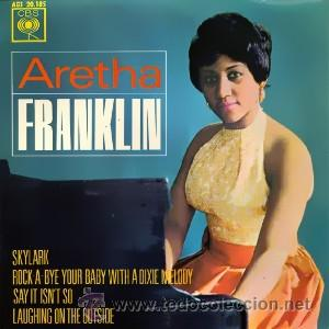 ARETHA FRANKLIN AÑO:1963 EP SELLO:CBS AGS 20.185 DISTRIBUIDO POR: HISPAVOX (Música - Discos de Vinilo - EPs - Funk, Soul y Black Music)