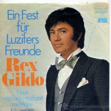 Discos de vinilo: REX GILDO (SINGLE ORIGINAL ALEMAN) TEMAS EN PORTADA. Lote 15017106
