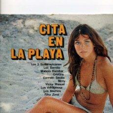 Discos de vinilo: CITA EN LA PLAYA - ORLADOR 1971- LOS MISMOS,CARMEN SEVILLA, VICTOR MANUEL,MONY ETC.10 TEMAS.. Lote 24878396