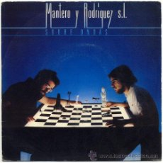 Discos de vinilo: MANTERO Y RODRIGUEZ SL – SOBRE ONDAS – SN PROMO SPAIN 1981 - CBS A-1364. Lote 20882425