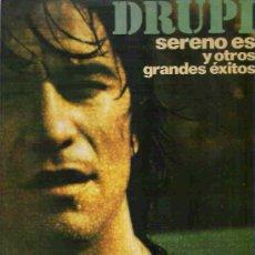 Discos de vinilo: DRUPI - SERENO ES Y OTROS GRANDES EXITOS *** LP HISPAVOX 1976. Lote 15044118