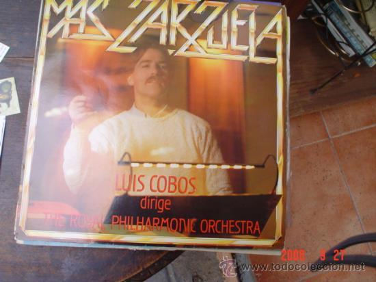 LUIS COBOS (Música - Discos - LP Vinilo - Clásica, Ópera, Zarzuela y Marchas)