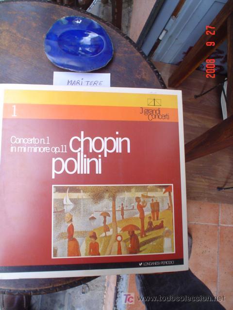 CHOPIN POLLINI (Música - Discos - LP Vinilo - Clásica, Ópera, Zarzuela y Marchas)