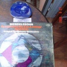 Discos de vinilo: FELIX MENDELSSONHN - BARTHOLDY. Lote 26790442