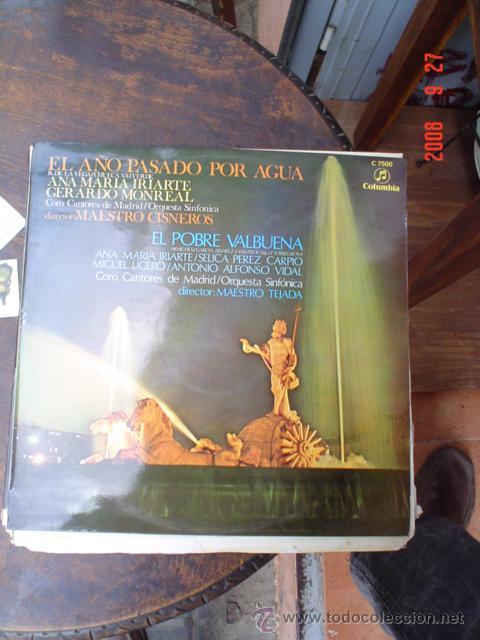 MAESTRO CISNEROS (Música - Discos - LP Vinilo - Clásica, Ópera, Zarzuela y Marchas)