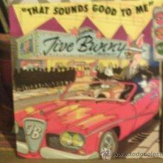 Discos de vinilo: JIVE BUNNY ---- THAT SOUNDS GOOD TO ME MAXI SINGLE. Lote 15056781