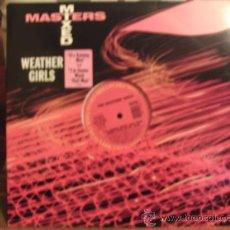 Discos de vinilo: WEATHER GIRLS ---- IT´S RAINING MEN MAXI SINGLE. Lote 15056943