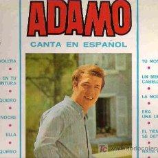 Discos de vinilo: ADAMO CANTA EN ESPAÑOL*** 1966 EMI ODEON LP. Lote 15059724