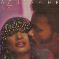 Discos de vinilo: PEACHES & HERB *** TWICE THE FIRE ** POLYDOR 1979. Lote 15059775