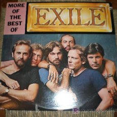 Discos de vinilo: EXILE – MORE OF THE BEST OF. Lote 15060215