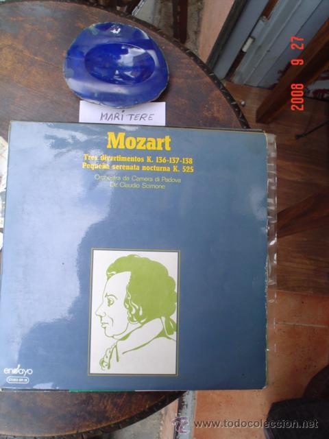 MOZART (Música - Discos - LP Vinilo - Orquestas)