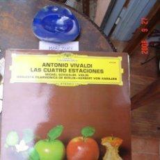 Discos de vinilo: LAS CUATRO ESTACIONES DE VIVALDI. Lote 27577320
