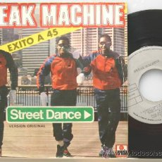 Dischi in vinile: BREAK MACHINE STREET DANCE (VOCAL)-STREETDANCE (INSTRUMENTAL) SINGLE 1983. Lote 15087844