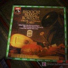 Discos de vinilo: MUSICA BARROCA, MARCELLO, TELEMANN, MÜTHEL. Lote 27466803