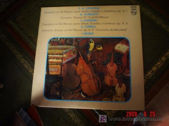LOCATELLI, SCARLATTI, ALBINONI, CORELLI (Música - Discos - LP Vinilo - Orquestas)