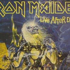 Discos de vinilo: IRON MAIDEN. LIVE AFTER DEATH. Lote 15097879
