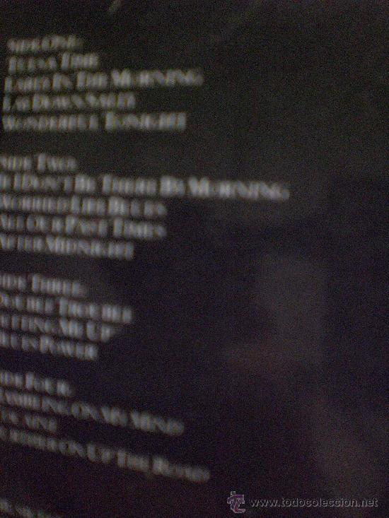 Discos de vinilo: ERIC CLAPTON. JUST ONE NIGHT - Foto 2 - 15106607