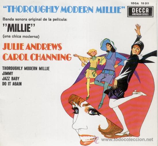 THOROUGHLY MODERN MILLIE (MILLIE UNA CHICA MODERNA) EP (Música - Discos de Vinilo - EPs - Bandas Sonoras y Actores)