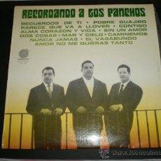 Discos de vinilo: LOS PANCHOS LP.RECORDANDO A LOS PANCHOS. Lote 27302013