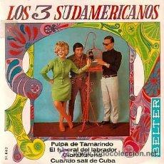 Discos de vinilo: LOS 3 SUDAMERICANOS - EP, 1967. Lote 154639034