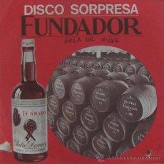 Discos de vinilo: BOLA DE NIEVE - BABULÚ - DISCO SORPRESA FUNDADOR - 1969. Lote 20525840