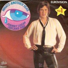 Discos de vinilo: JOHNNY LOGAN FESTIVAL DE EUROVISION AÑO 1980 SINGLE SELLO EPIC EDITADO EN HOLANDA. Lote 15123847