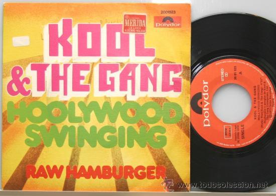 Kool The Gang Hollywood Swinging Raw Hamburge Sold