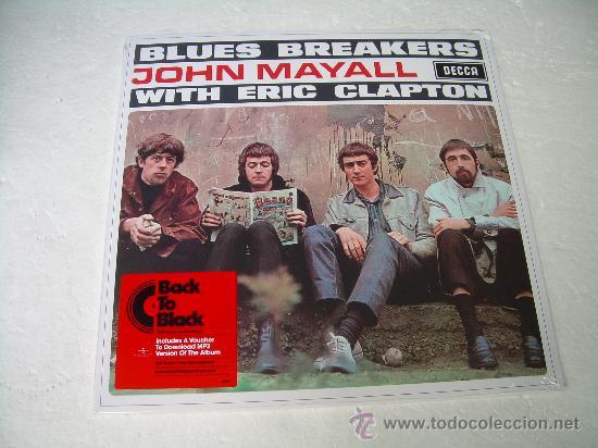 LP JOHN MAYALL WITH ERIC CLAPTON BLUES BREAKERS VINILO 180G + MP3 (Música - Discos - LP Vinilo - Pop - Rock Extranjero de los 50 y 60)