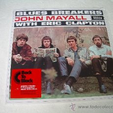 Discos de vinilo: LP JOHN MAYALL WITH ERIC CLAPTON BLUES BREAKERS VINILO 180G + MP3. Lote 74776573