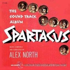 Discos de vinilo: ESPARTACO-SPARTACUS-LP BANDA SONORA ORIGINAL SOUNDTRACK MUSICA ALEX NORTH. Lote 24879882